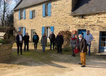 Rencontre avec l'Association des Maires Ruraux du Finistère