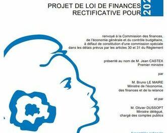 Projet de loi de finances rectificatives 2021 et soutien à l'investissement
